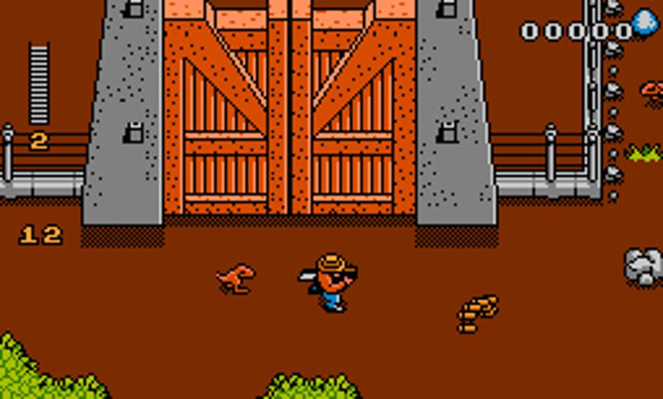 Jurassic Park 1993 NES