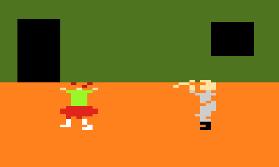 Halloween Video Game 1983