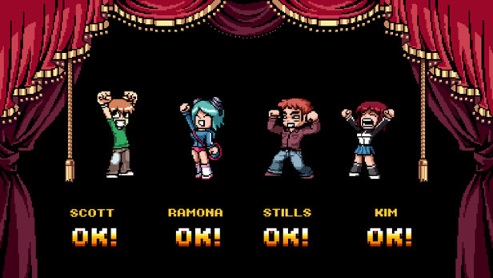 Scott Pilgrim vs the World Video Game 2010