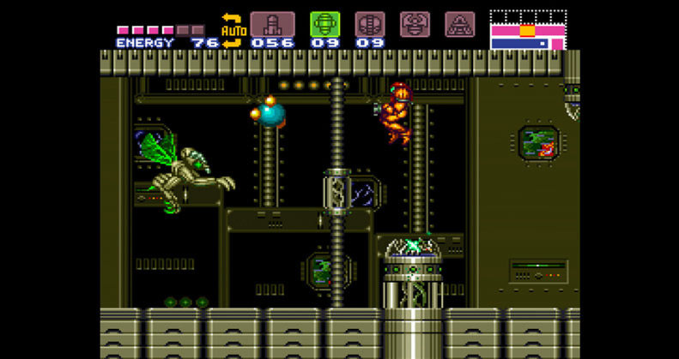 super metroid (1994 snes)