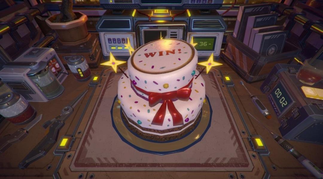 Access Denied Cake
