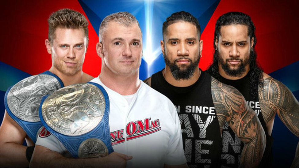 WWE Elimination Chamber 2019 - SmackDown Tag Championship